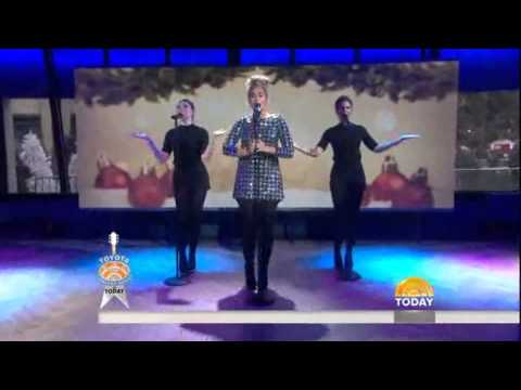 Leona Lewis performs 'One More Sleep' on Today Show