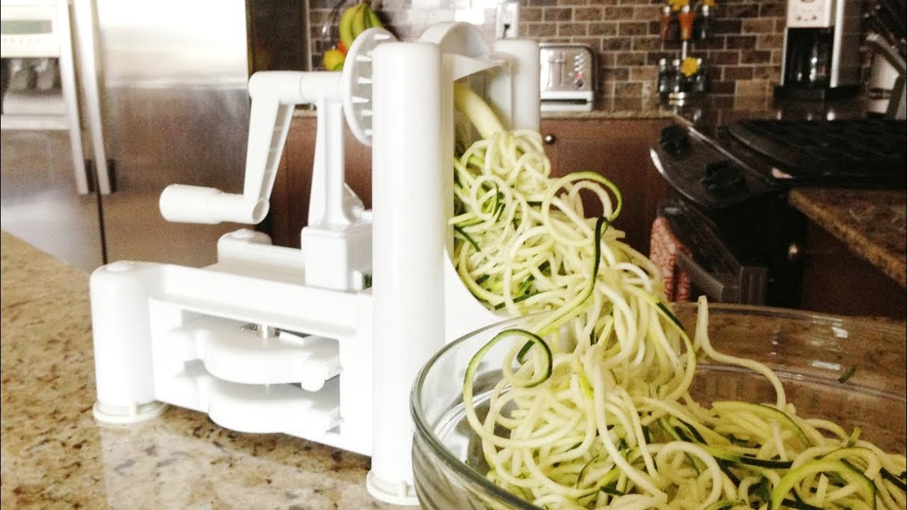 How To Use A Spiralizer   GetFitWithLeyla   YouTube