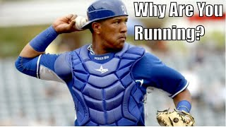 Salvador Perez Throwing Out Baserunners Compilation