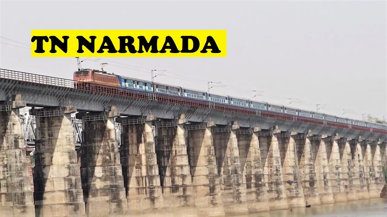 Tamil Nadu Express Cruises Narmada River Bridge