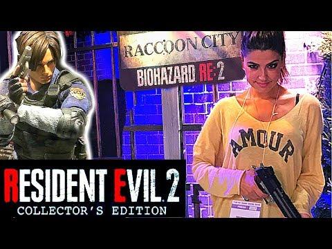 Resident Evil 2 Remake Collector et stand de tir ! TGS 2018