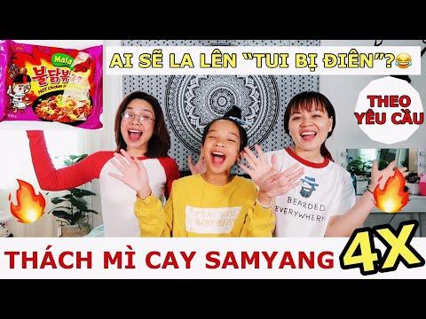 THỬ THÁCH MÌ CAY SAMYANG MALA 4X- SONG THƯ CHANNEL
