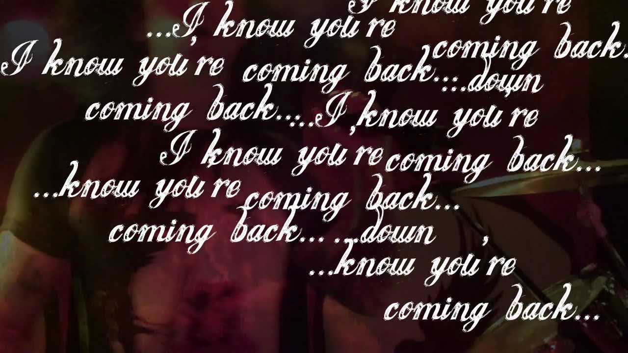 Hollywood Undead Coming Back Down Lyric Video Youtube