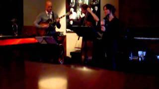 Pauvre Diable by Anna B trio (guitar) at the Vé Café