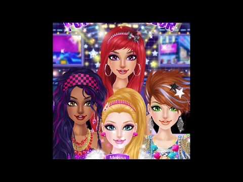 Pop star salon on iPad