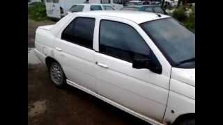 Automobiliu dalys alfa romeo 145 1994 1 9L TD dyzelis mechanine sedanas 4 5D eu balta...