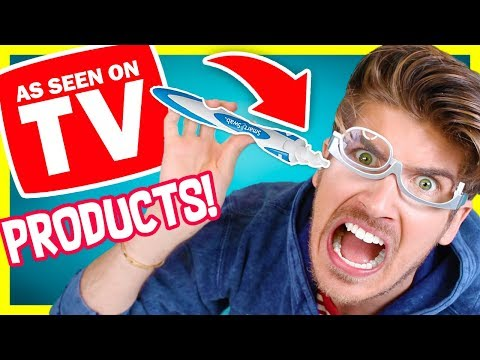 TESTING AS SEEN ON TV PRODUCTS!