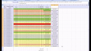 MS Office Excel. Урок 18. Пример анализа диагностики учеников