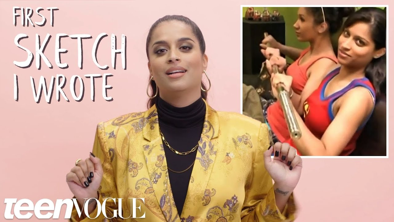 Lilly Singh Shares Her First YouTube Collab, Sketch She Wrote & More | Teen Vogue