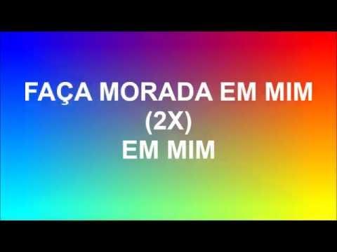 Faça morada - Coral Kemuel (playback legendado)