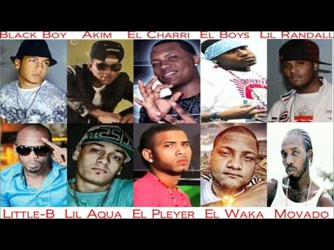 Movado El Boys  Black Boy  Akim  El Charri Little-B El Waka★Come Round Riddim 2012 Mix★