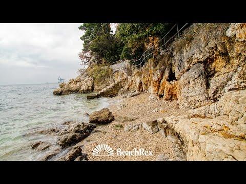 beach Crnej, Rijeka, Croatia