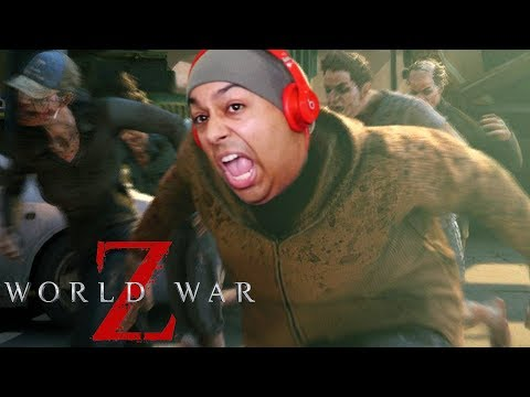 THERE'S TOO MANY DAMN ZOMBIES!! I CAN'T HANDLE IT YALL! [WORLD WAR Z]