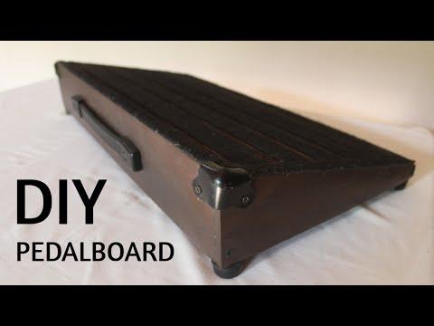 Como hacer una pedalboard | DIY Pedalboard