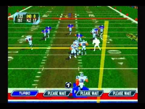 NFL Blitz 2000 Season Mode Week #2[Colts VS Patriots]