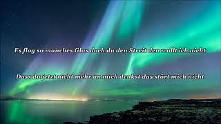 Michael Wendler -  Gut, dass Männer nie weinen (Lyrics)