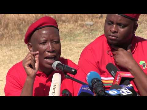 EFF rejects coalitions with ANC and DA - Julius Malema