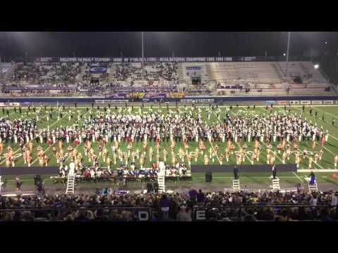 The University of North Alabama Pride of Dixie Marching Band 9-12-15