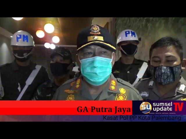 Anggota Pol PP Palembang Sisir Tujuh Kafe, 20 Pelanggar Digaruk