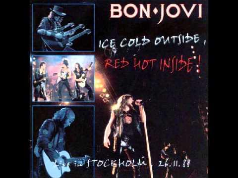 Bon Jovi - Live Stockholm 1988 [FULL]