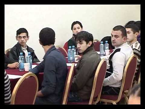 AYF in Armenia Discusses Cooperation with Europe