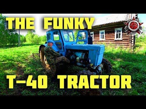 T-40 Soviet Russian Farm Tractor (2018)