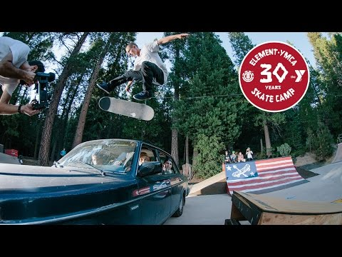 30 Years of Element Skate Camp