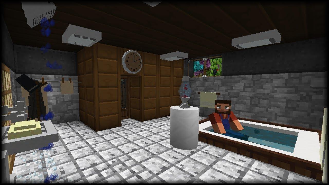 Richtig cooles Badezimmer inkl. Sauna | Minecraft Doors #55