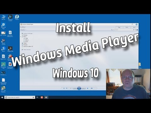 Install Windows Media Player Windows 10