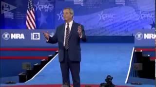 Nigel Farage addresses CPAC 2017 full