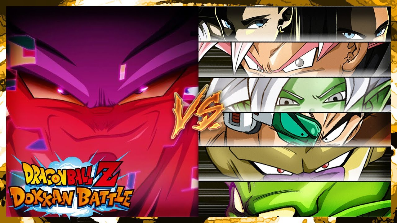 halloween special nightmare themed team vs janemba dbz dokkan battle