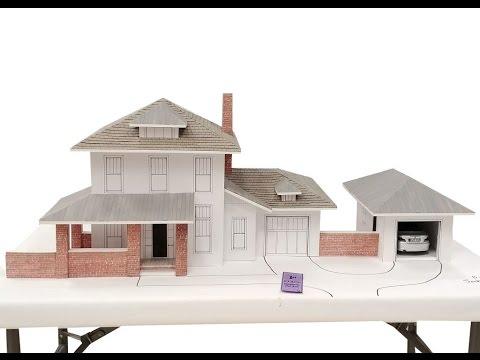 Making A Cardboard House Model Jack Strait