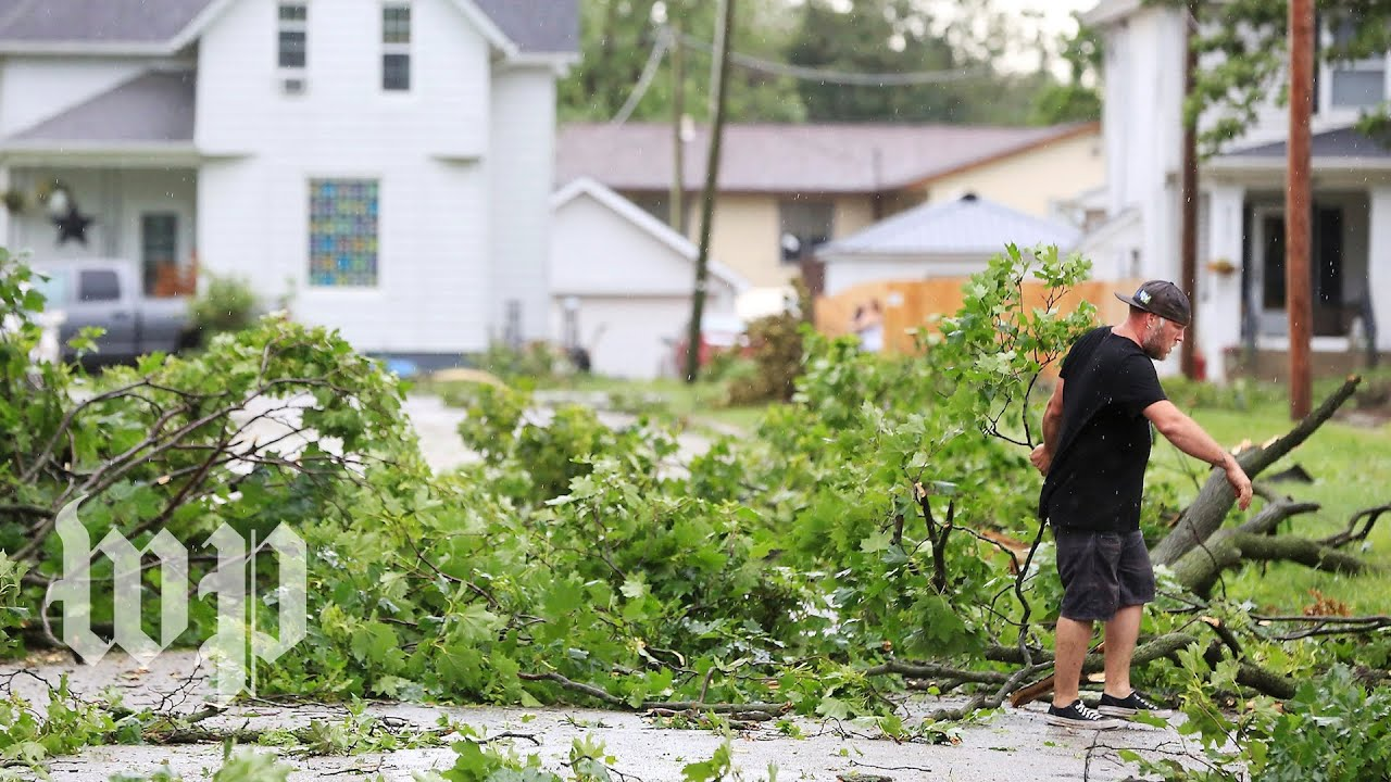 Severe storms bring high winds and rain to Midwest