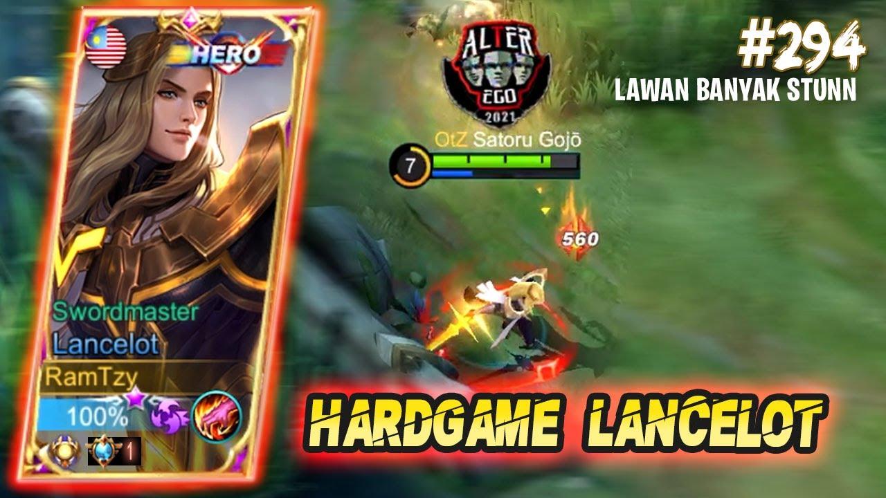 Download HARDGAME LANCELOT LAWAN HERO HERO KUAT - LANCELOT MOBILE LEGENDS GAMEPLAY #294