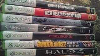 Мои игры на Xbox 360 (2014)