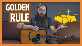Strumming Patterns for Beginners [start with THIS Golden Rule]