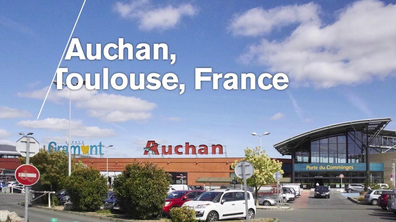 LED Lighting Case Study - Auchan Supermarket France from Nualight