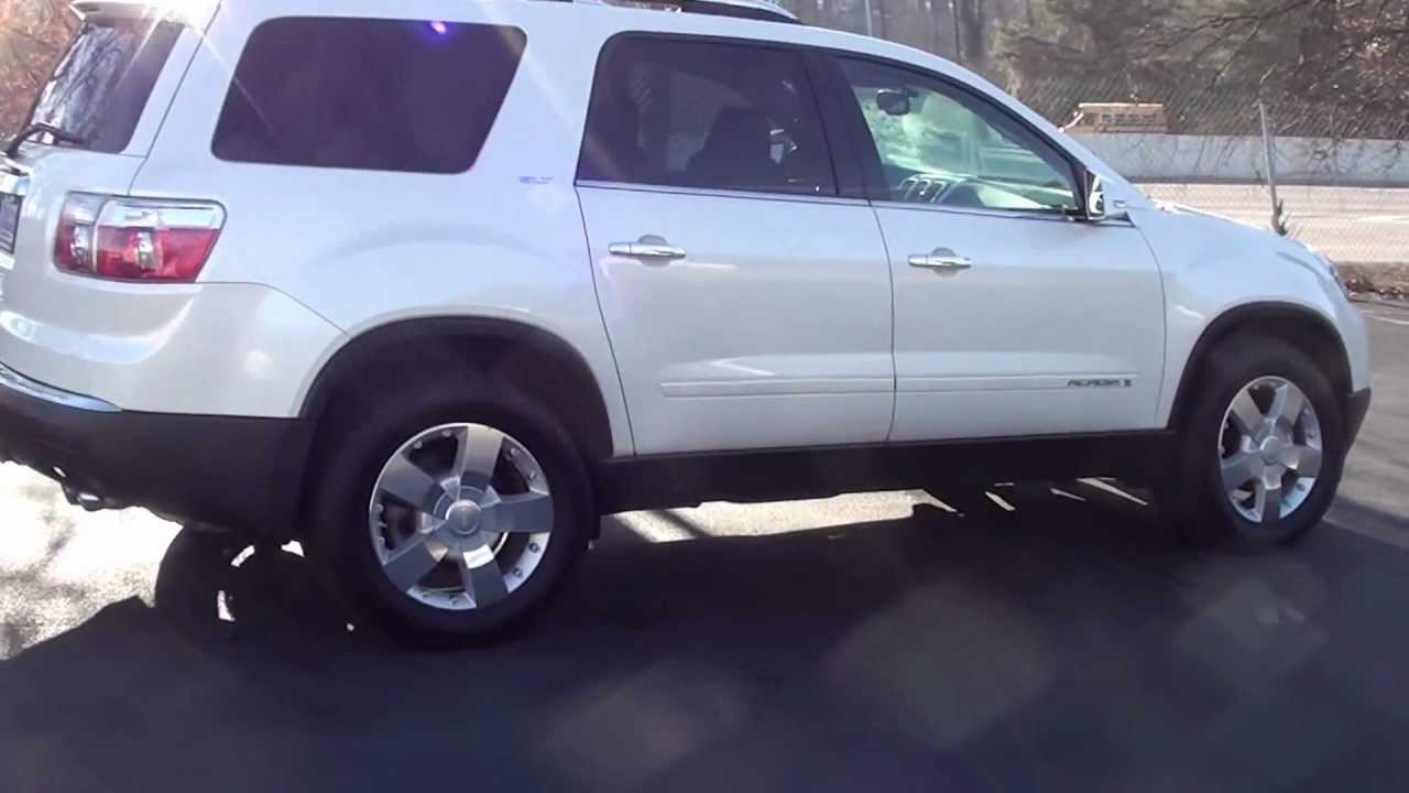 FOR SALE 2008 GMC ACADIA SLT   DUAL MOONROOF REAR ENT    STK  P6045     FOR SALE 2008 GMC ACADIA SLT   DUAL MOONROOF REAR ENT    STK  P6045  www lcford com   YouTube