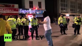 UK: EDL storm Woolwich streets in response to public execution