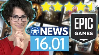 Epic Game Store bekommt Review-System - News