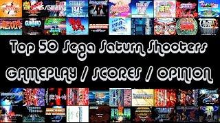 Top 50 Sega Saturn Shooters HD