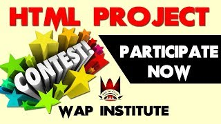 html project development contest hosted by wap institute powered by sweetus media