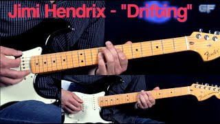 "Jimi Hendrix - ""Drifting"" - Blues/Rock Guitar Cover"