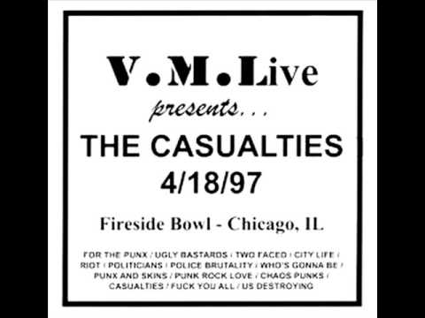 The Casualties - Live At The Fireside Bowl (1997) (Full Álbum)