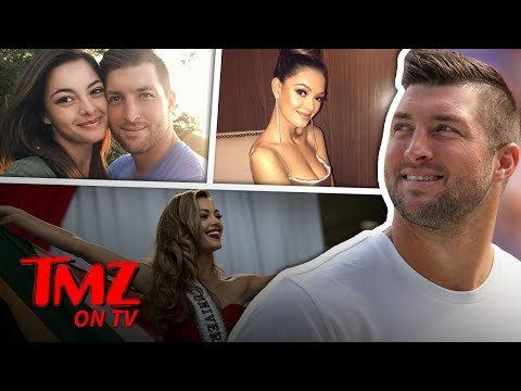 Tim Tebow Dating ANOTHER Ms. Universe   TMZ TV