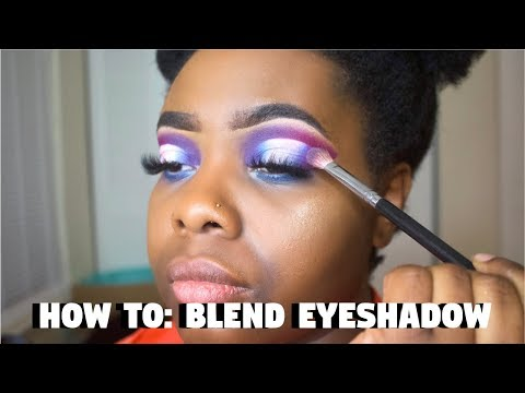 HOW TO: BLEND EYESHADOW LIKE A PRO!!