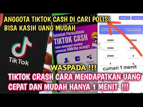 Waspada Penipuan Tiktok Cash Bisa Dapat Uang Cuma Nonton Tiktok Doang Youtube