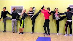 Stretching! The fitness Studio MIXfit in Balashov. Love Coach Bordunova.
