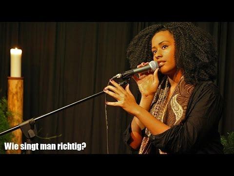 Wie singt man richtig? Übungen zum Stimme trainieren