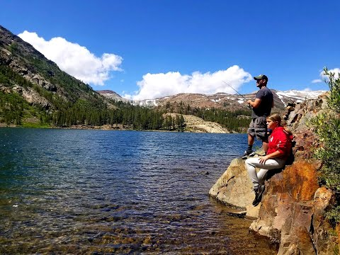 4 day Yosemite and Tioga Pass fishing and camping adventure!